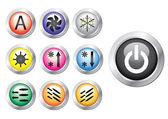 Button — Stock Vector
