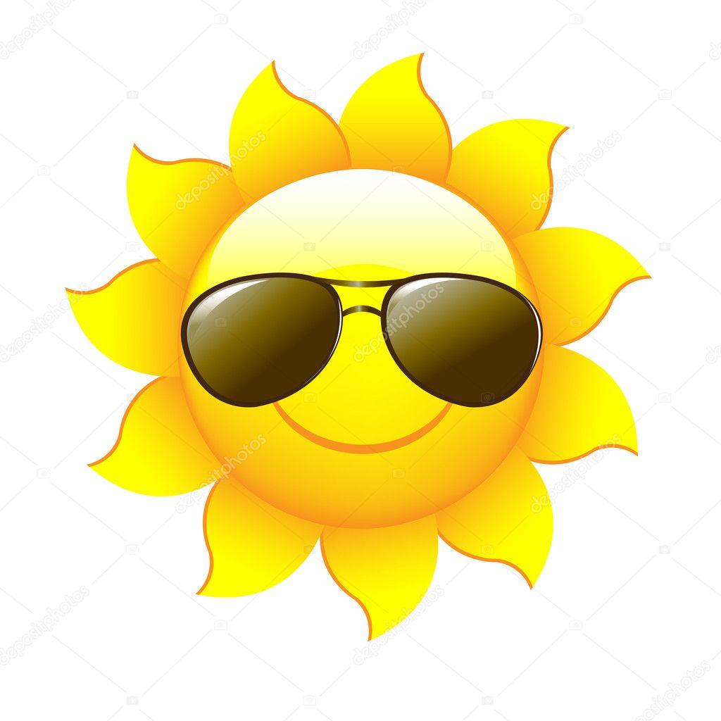 Cartoon sun stock vector adamson 5440228 - Image soleil rigolo ...