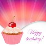 Happy Birthday Card — Stock Vector #5635400
