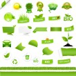 Bio Signs Set - Stock Vector