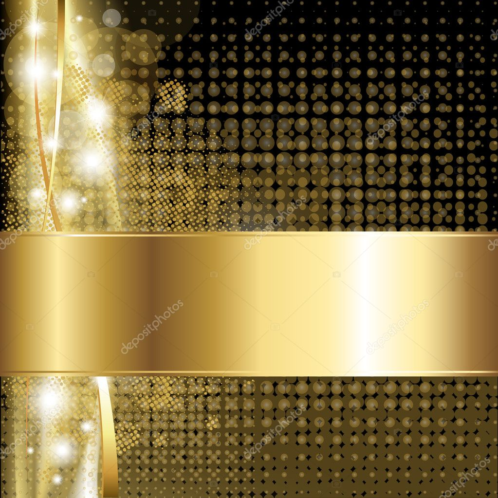Gold Luxury Background Stock Vector Adamson 6560200