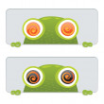 Hypno Frog — Stock Vector #6705695