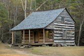 Cades Cove - Carter Shields Cabin — Stock Photo