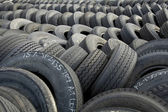 Pile of Tires — Stock Photo
