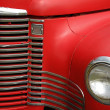 Antique Truck Grill — Stock Photo
