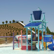 Stock Photo: Waterpark Playground