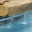 Swimming Pool Water Feature — Stock Photo #6376890