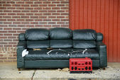 Street Life - Urban Living Room — Stock Photo