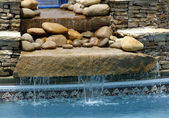SPA Waterfall Feature — Stock Photo