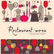 thumbnail of Vector. Restaurant menu design