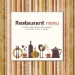 vector. Restaurant menu ontwerp — Stockvector