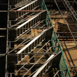 Royalty-Free Stock Photo: The scaffold