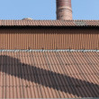 Stock Photo: Old industrie roofs