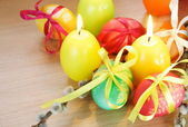 Easter Festive Decorations — Stock Photo