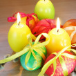 Easter Festive Still Life Vertical - Stockfoto