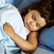 Stock Photo: Little Girl Asleep