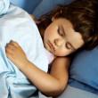 Little Girl Asleep — Stock Photo