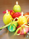 Easter Festive Still Life Vertical — Stock Photo