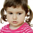 Stock Photo: Little Girl Saying Sorry