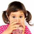 Stock Photo: Little Girl Drinking Water