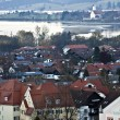 Aerial view to Fussen, Germany — Stock Photo