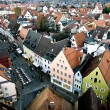 Aerial view to Fussen, Germany — Stock Photo #5591895