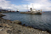 Ushuaia Harbour, Argentina — Stock Photo
