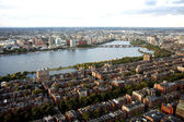 Boston's panorama from Prudential tower — Stock Photo