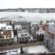 Quebec in winter - Stock Photo