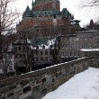 Quebec in winter — Stock Photo
