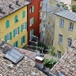 Riva del Garda city roofs — Stock Photo #6052069
