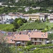 Stock Photo: Italivillage houses