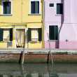 Houses in Burano Island — Photo