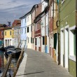 Houses in Burano Island — Foto de Stock