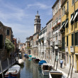 Buildings on a canal in Venice — Stock Photo #6391876