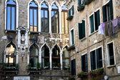 Edifícios em Veneza — Fotografia Stock