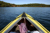 Boat in the Walden Pond — Stock Photo