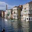 Buildings on the big canal in Venice — Stock Photo #6634829
