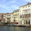 Buildings on the big canal in Venice — Stock Photo #6635077