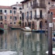 Buildings on a canal in Venice — Stock Photo #6635416