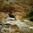 Waterfall at Capital Reef National Park - Stock Photo