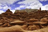 Goblin valley park stanowy — Zdjęcie stockowe