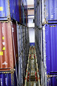 Cargo Containers — Stockfoto