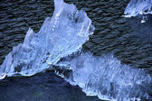 Ice Burgs From The Sawyer Glacier — Stock Photo