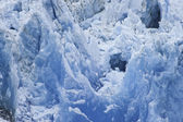 Closeup Of Glacier Ice — Stock Photo