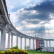Elevated express way at day time — Stock Photo