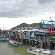 Stock Photo: Tai O fishing village with stilt house in Hong Kong