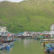 Tai O fishing village with stilt house in Hong Kong — Stock Photo #5575178