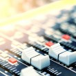 Mixing desk background pattern — Stock Photo #5687728