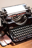 Antique type writer. — Stock Photo
